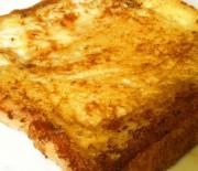 Cuisson d'un bon pain perdu