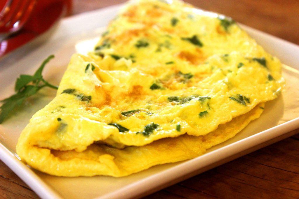 Recette de l'omelette