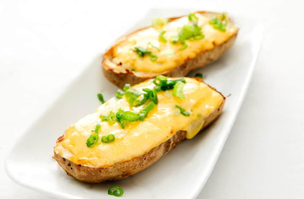 Toasts de pomme de terre au fromage